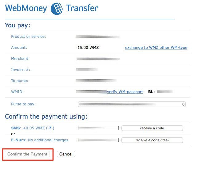 Advcash - deposit webmoney to cash